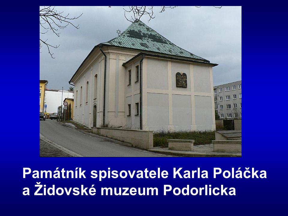 Památník spisovatele Karla Poláčka a Židovské muzeum Podorlicka