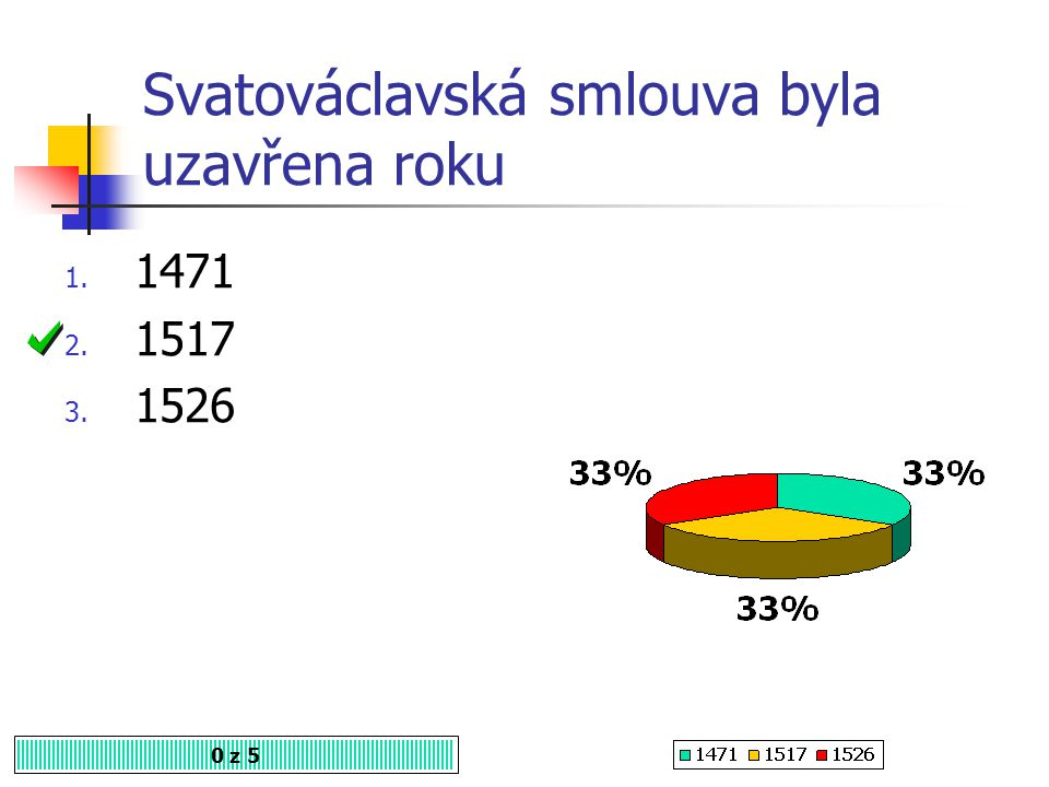 Svatováclavská smlouva byla uzavřena roku