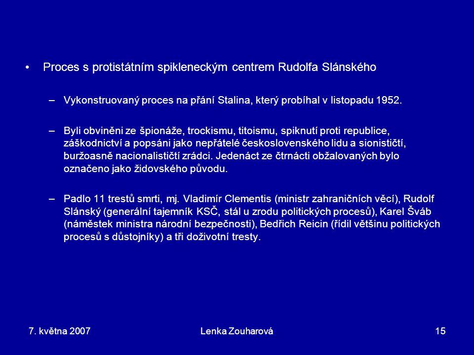 Proces s protistátním spikleneckým centrem Rudolfa Slánského