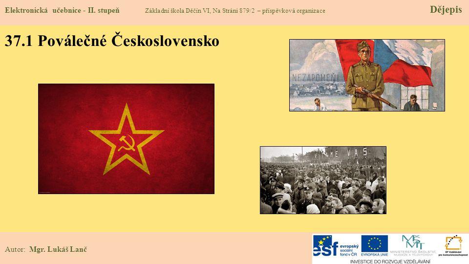 37.1 Poválečné Československo
