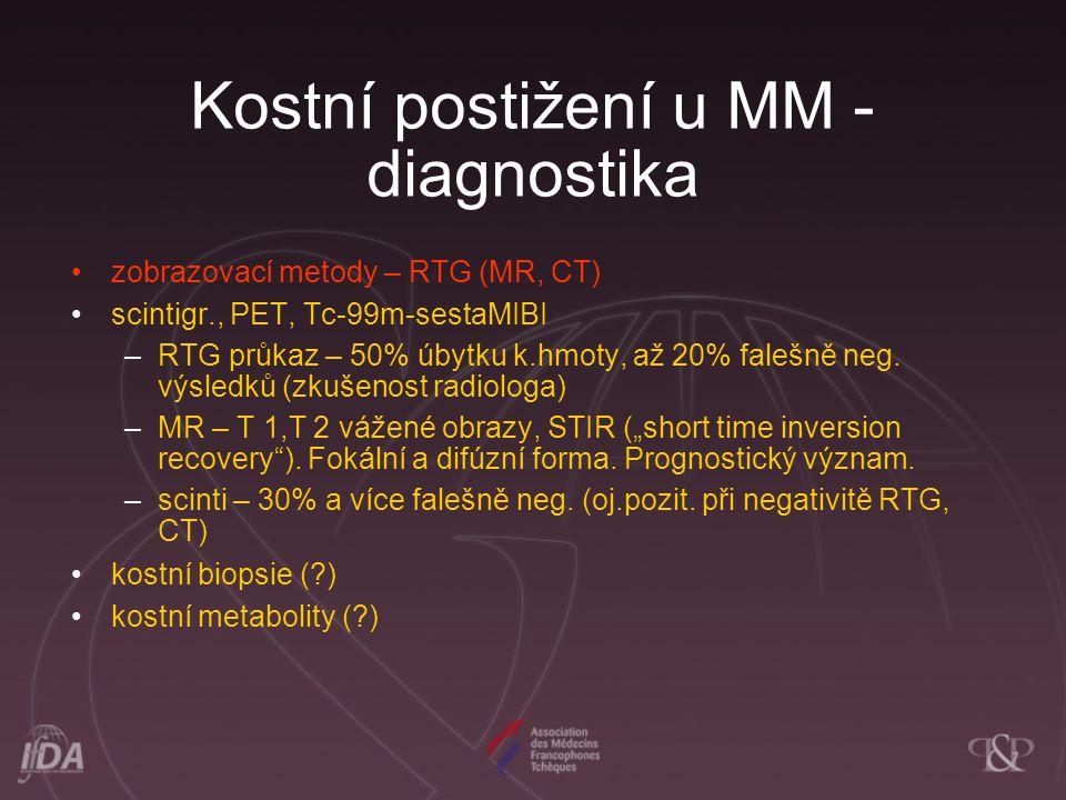 Kostní postižení u MM - diagnostika