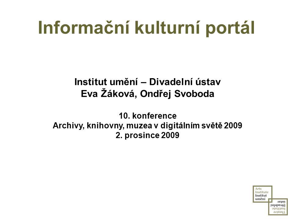 Informační kulturní portál
