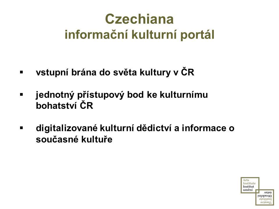 Czechiana informační kulturní portál