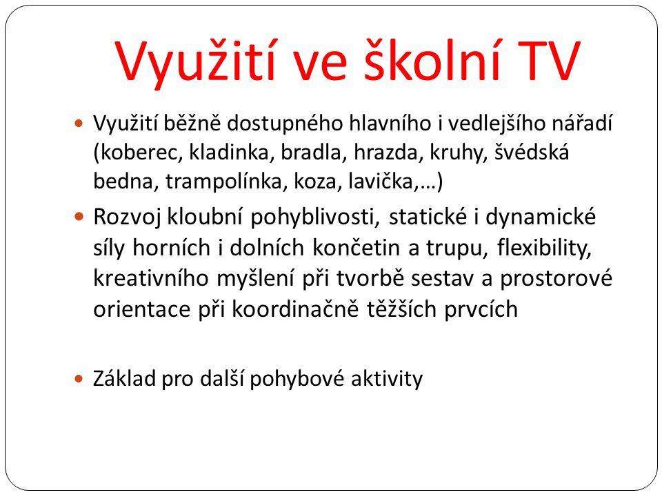 Využití ve školní TV