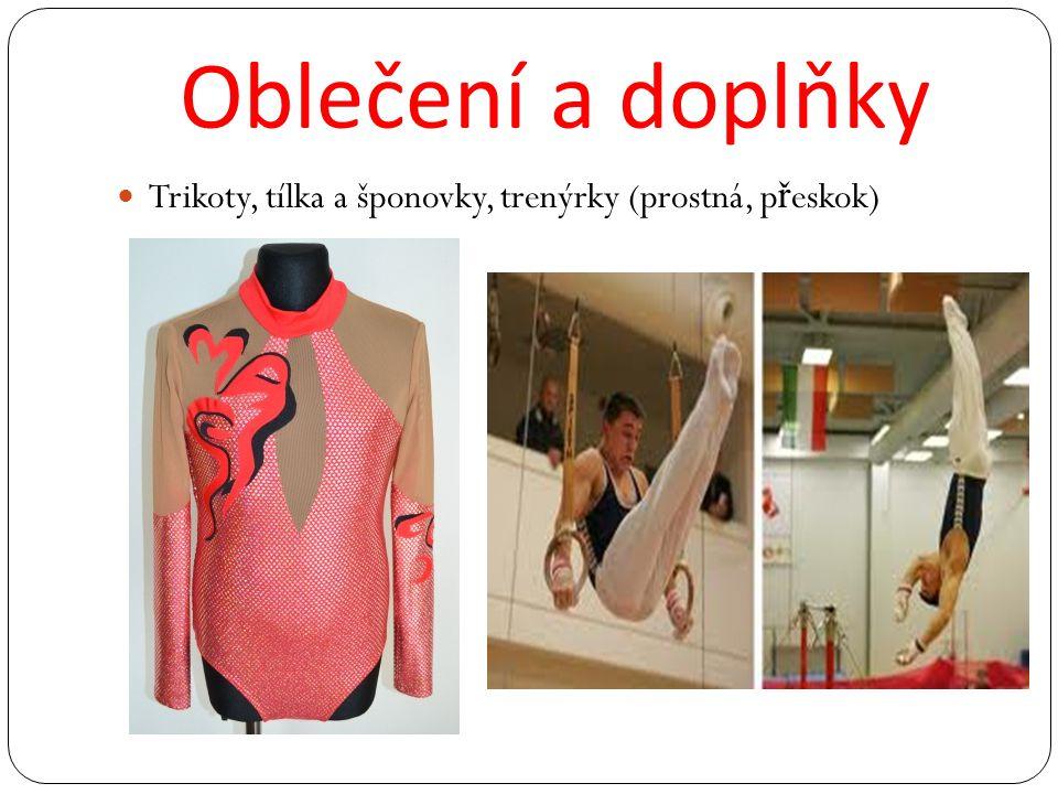 Oblečení a doplňky Trikoty, tílka a šponovky, trenýrky (prostná, přeskok)