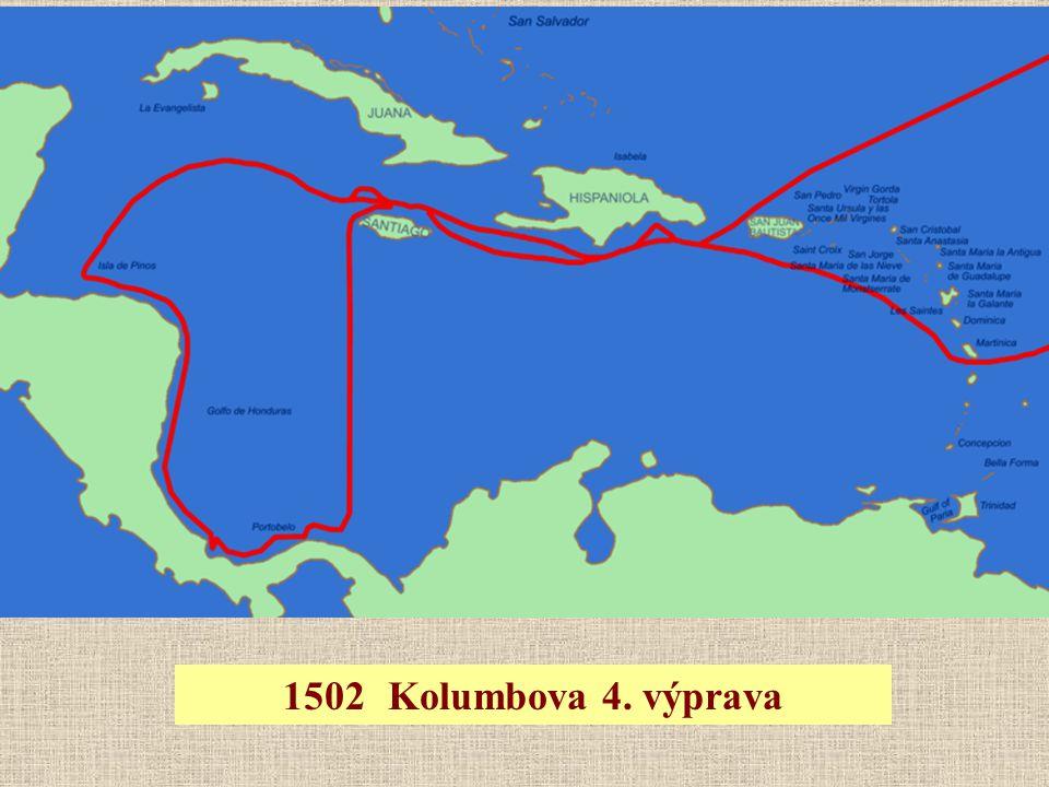 1502 Kolumbova 4. výprava