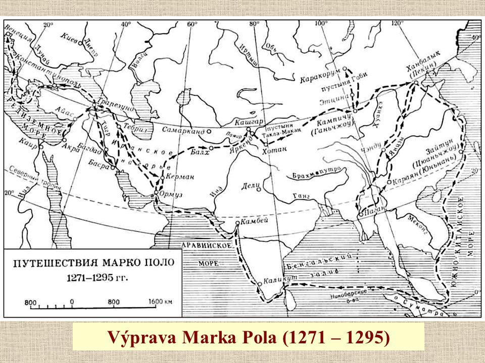 Výprava Marka Pola (1271 – 1295)