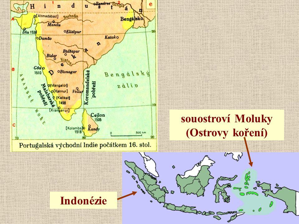 souostroví Moluky (Ostrovy koření)