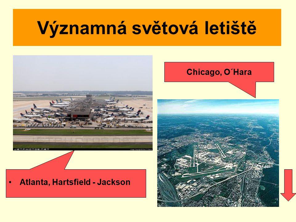 Významná světová letiště