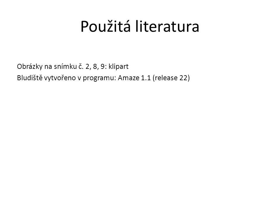Použitá literatura Obrázky na snímku č. 2, 8, 9: klipart
