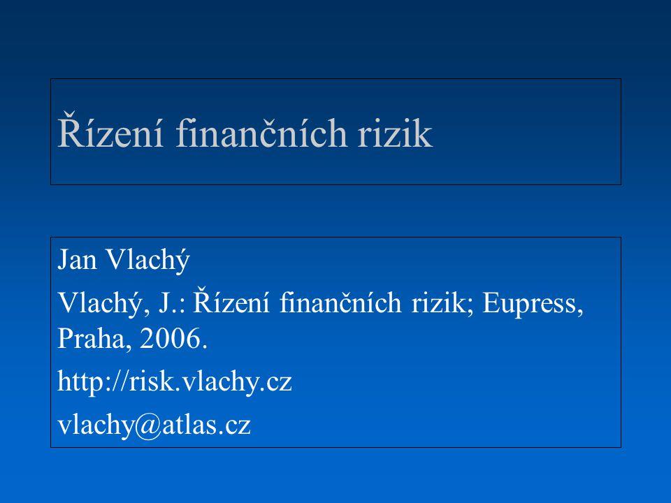 Řízení finančních rizik