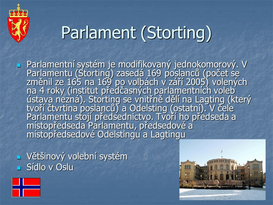 Parlament (Storting)