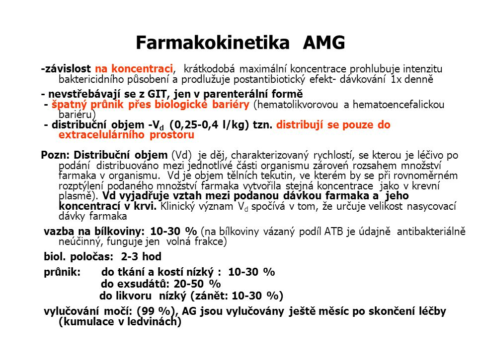 Farmakokinetika AMG