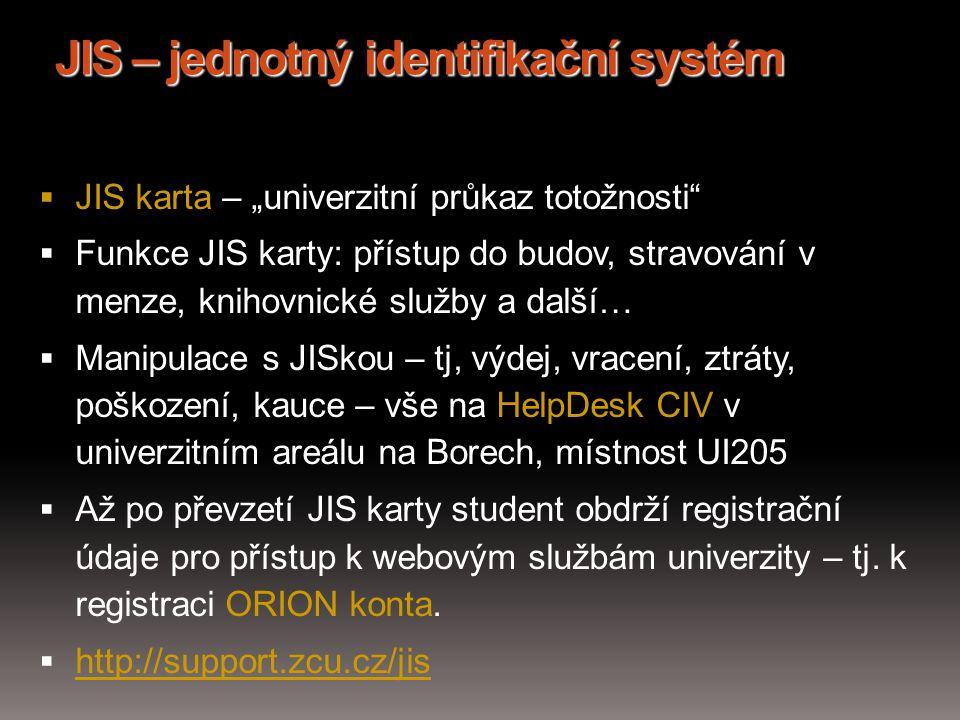 JIS – jednotný identifikační systém