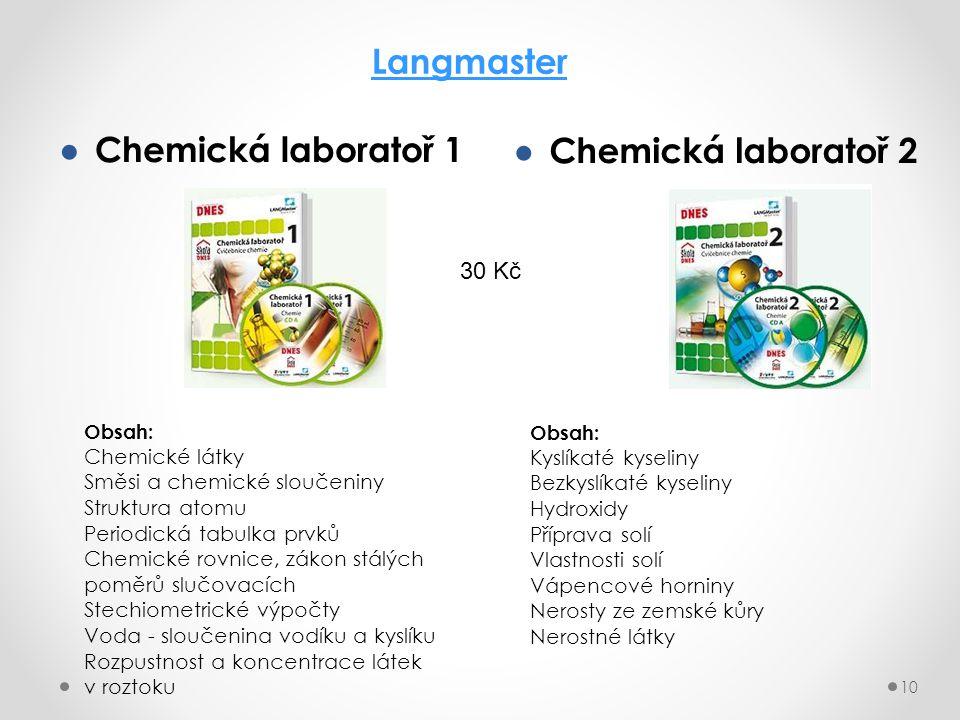 Langmaster Chemická laboratoř 1 Chemická laboratoř 2 30 Kč