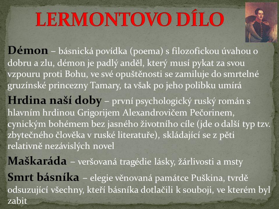 LERMONTOVO DÍLO