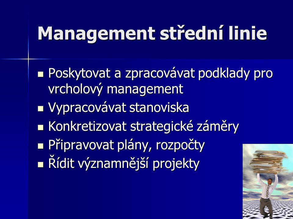 Management střední linie