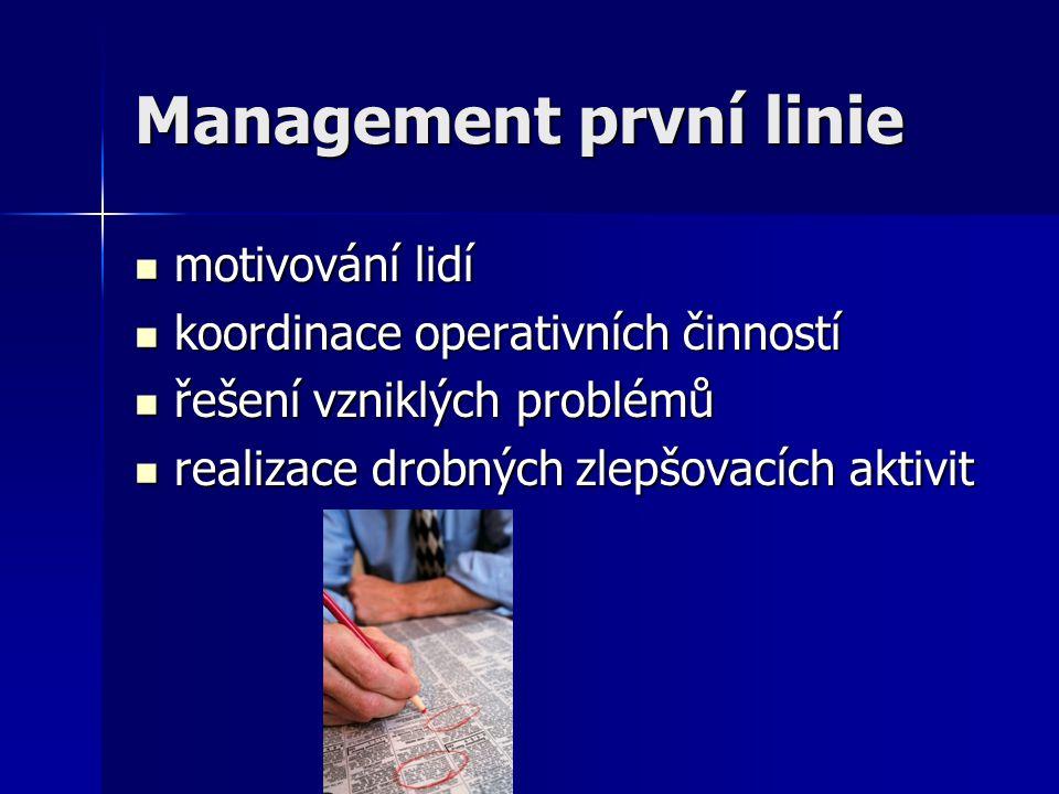 Management první linie