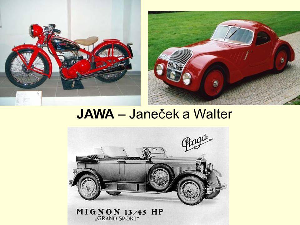 JAWA – Janeček a Walter