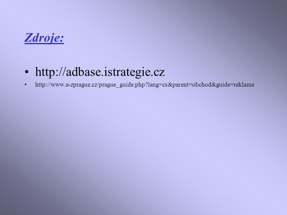 Zdroje: http://adbase.istrategie.cz