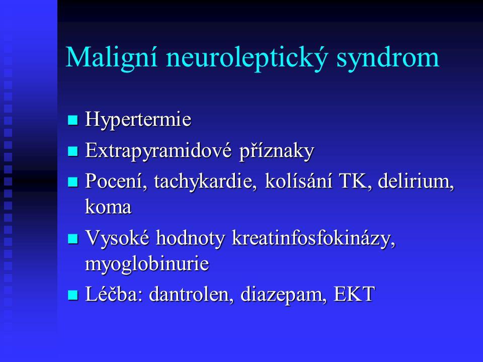 Maligní neuroleptický syndrom