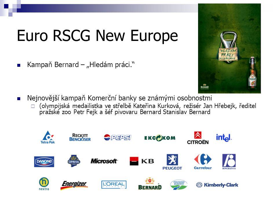 "Euro RSCG New Europe Kampaň Bernard – ""Hledám práci."