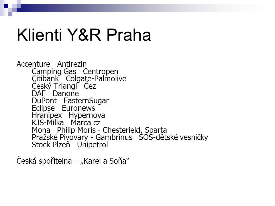 Klienti Y&R Praha