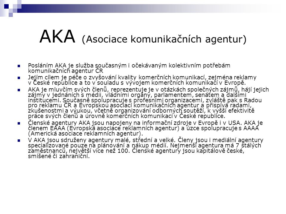 AKA (Asociace komunikačních agentur)