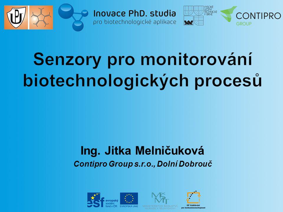 Senzory pro monitorování biotechnologických procesů