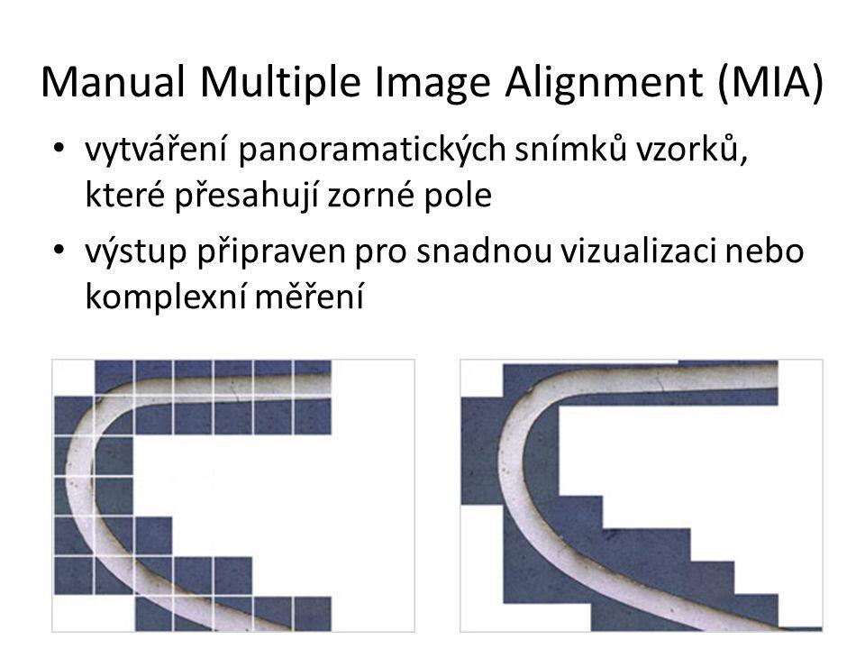 Manual Multiple Image Alignment (MIA)