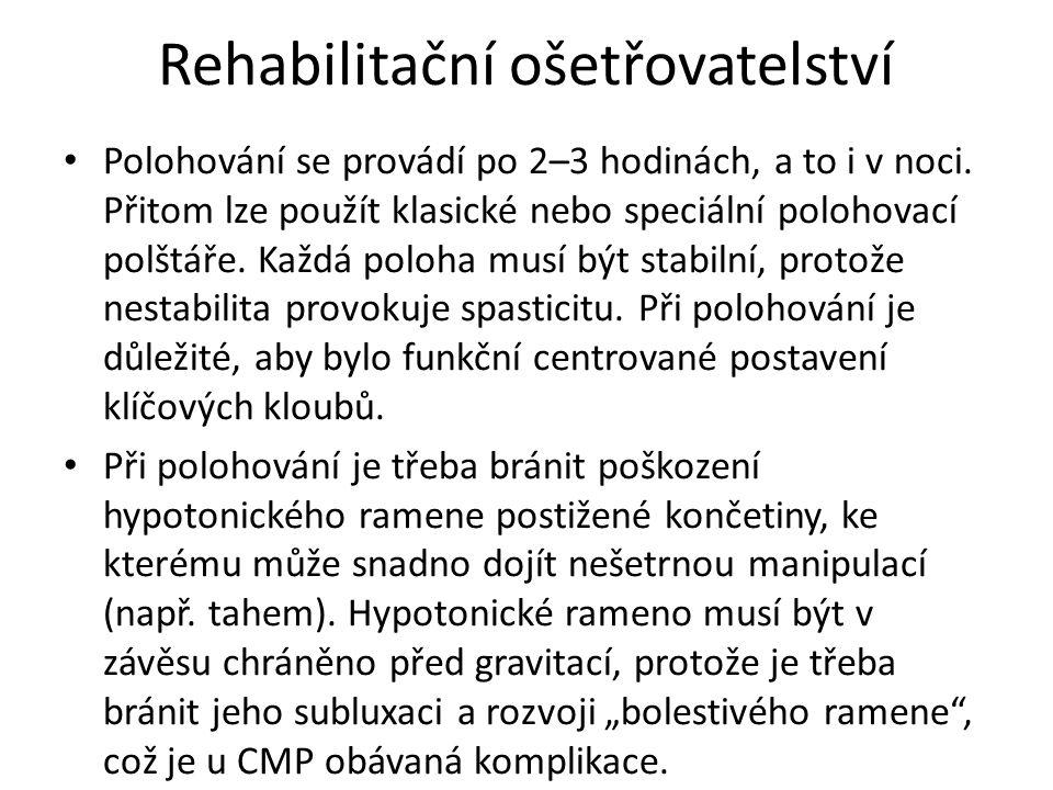 Rehabilitační ošetřovatelství