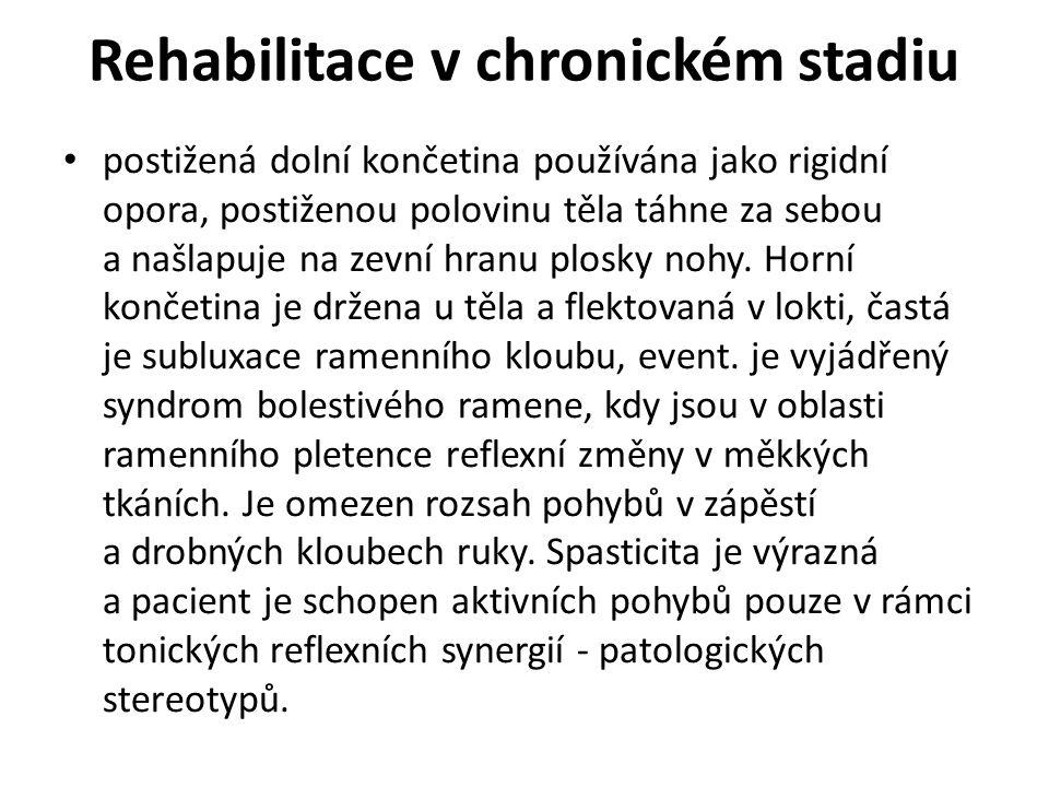 Rehabilitace v chronickém stadiu