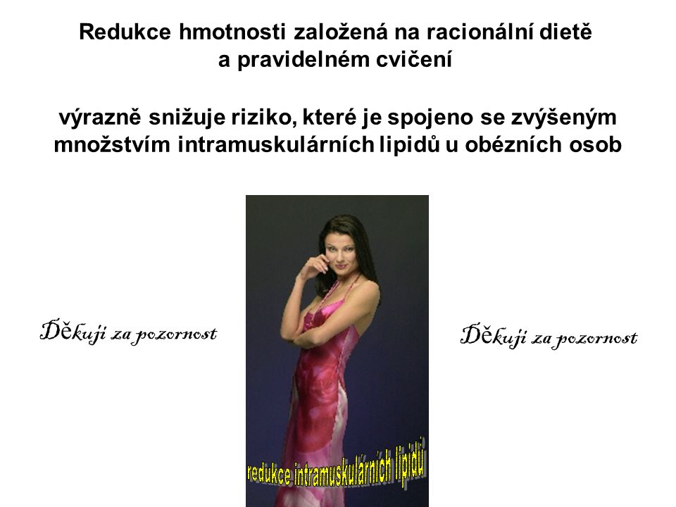 Redukce hmotnosti založená na racionální dietě a pravidelném cvičení