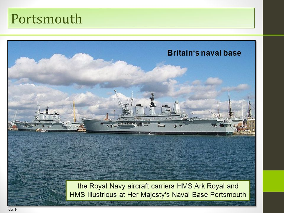 Portsmouth Britain's naval base