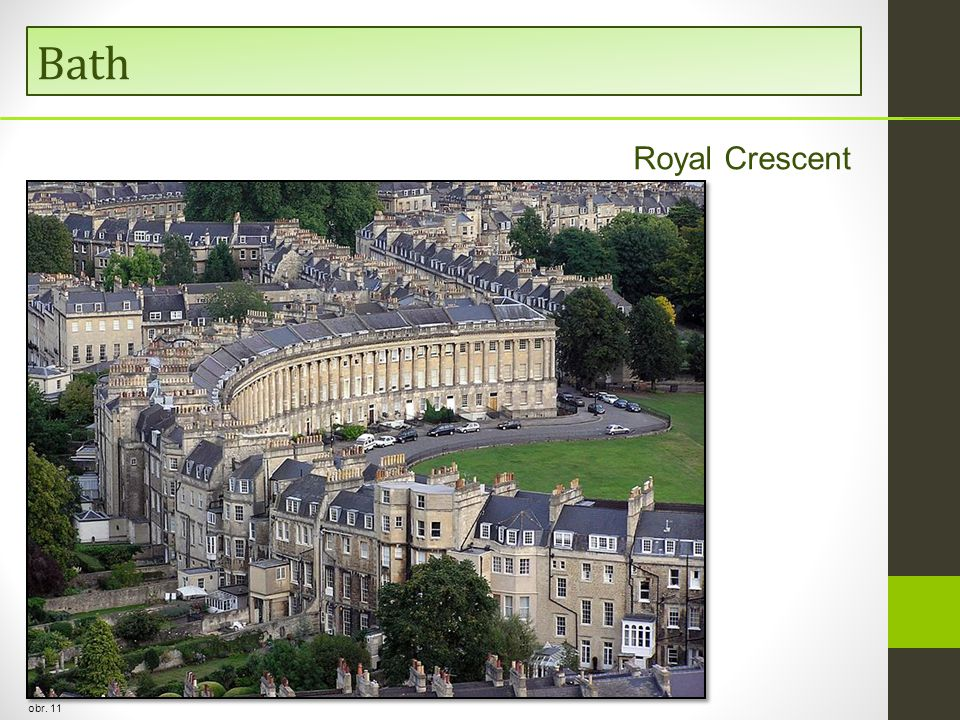 Bath Royal Crescent obr. 11