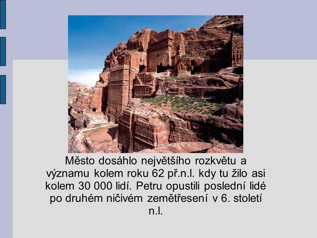 Město dosáhlo největšího rozkvětu a významu kolem roku 62 př. n. l