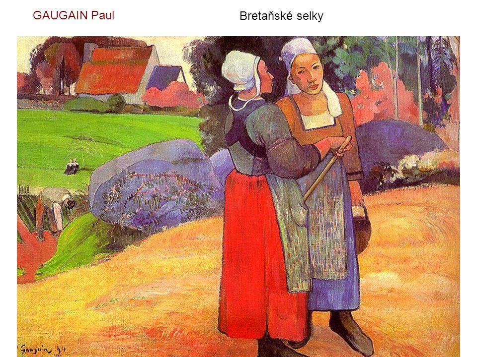 GAUGAIN Paul Bretaňské selky