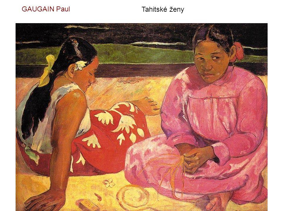 GAUGAIN Paul Tahitské ženy