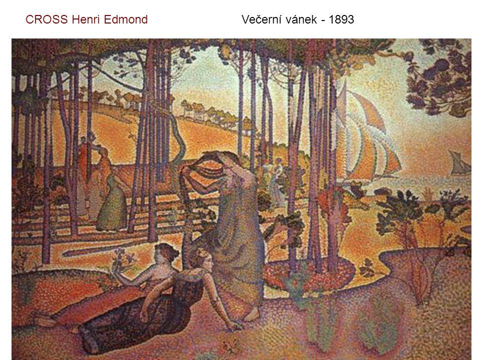 CROSS Henri Edmond Večerní vánek - 1893