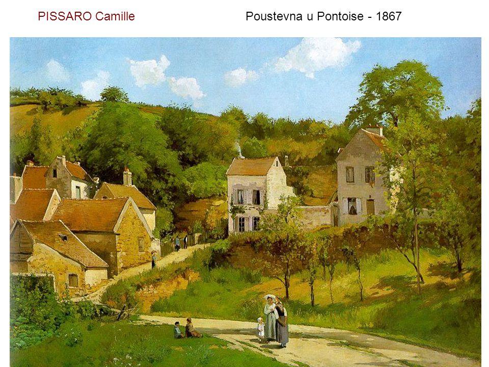 PISSARO Camille Poustevna u Pontoise - 1867