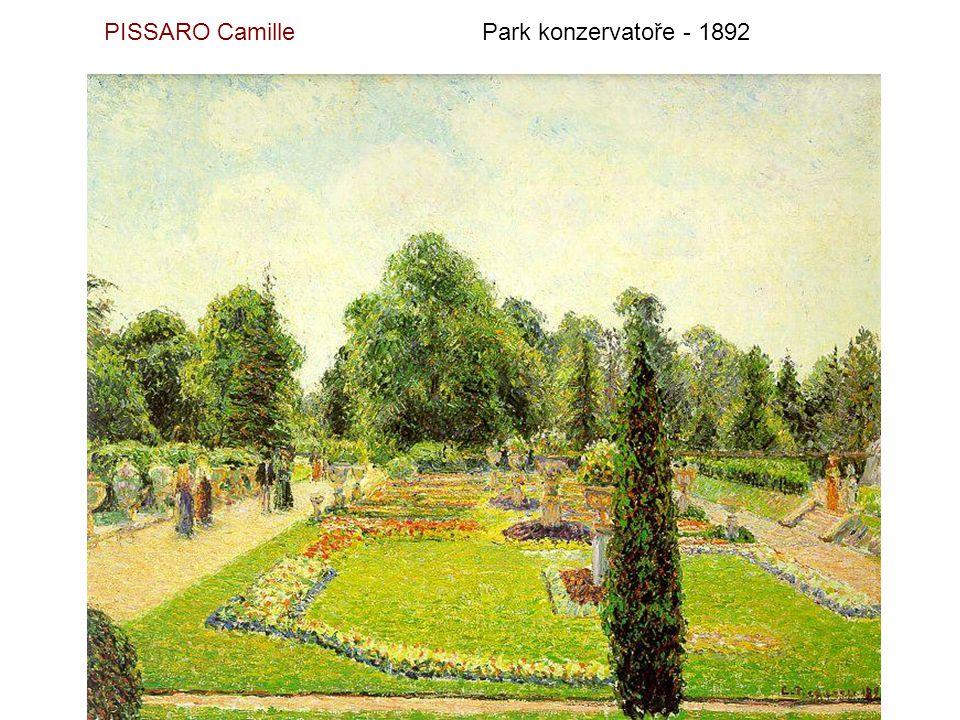 PISSARO Camille Park konzervatoře - 1892