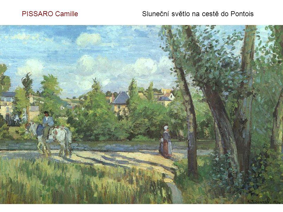 PISSARO Camille Sluneční světlo na cestě do Pontois
