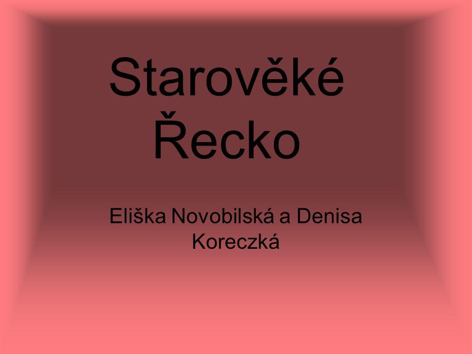 Eliška Novobilská a Denisa Koreczká