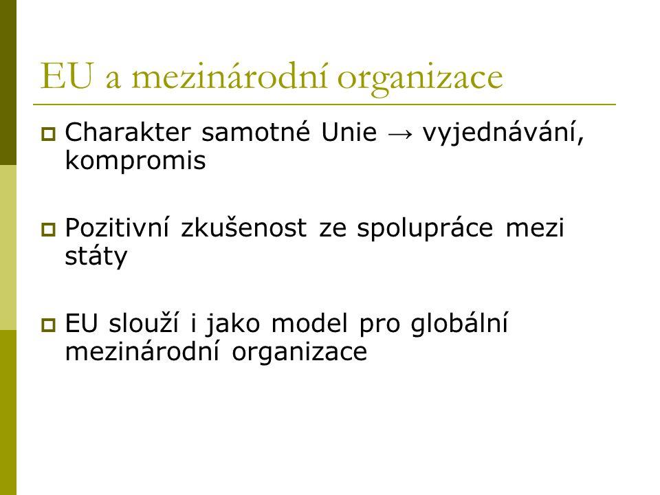 EU a mezinárodní organizace