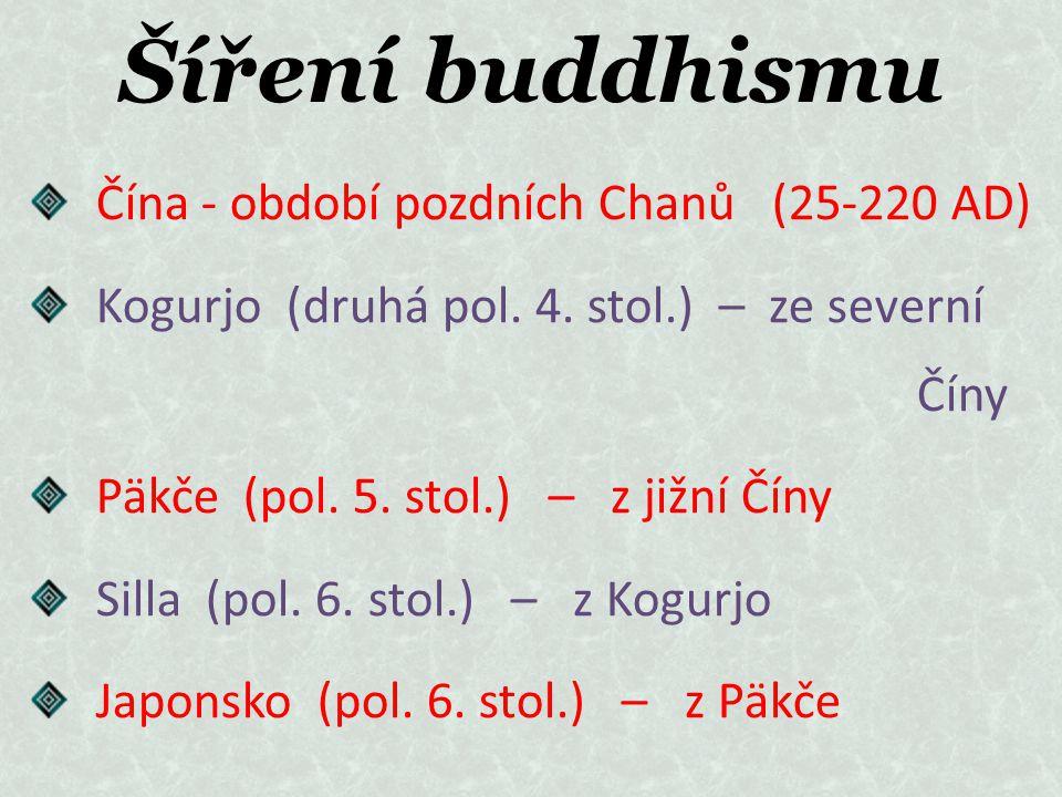 Šíření buddhismu Čína - období pozdních Chanů (25-220 AD)
