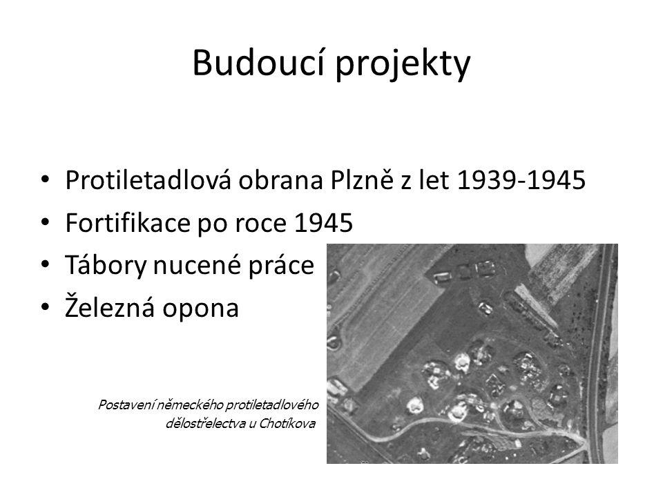 Budoucí projekty Protiletadlová obrana Plzně z let 1939-1945