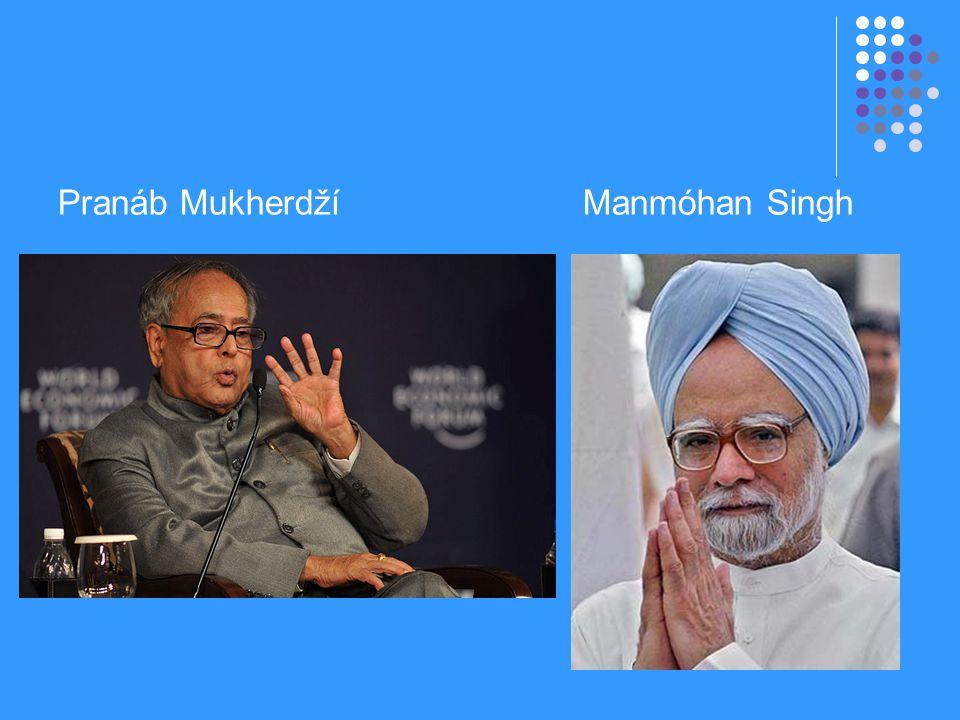 Pranáb Mukherdží Manmóhan Singh