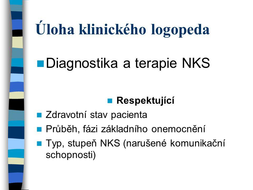 Úloha klinického logopeda