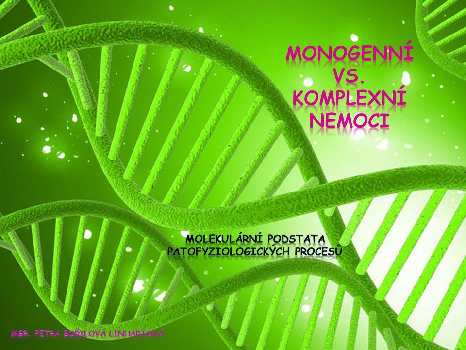 Monogenní Vs. Komplexní nemoci
