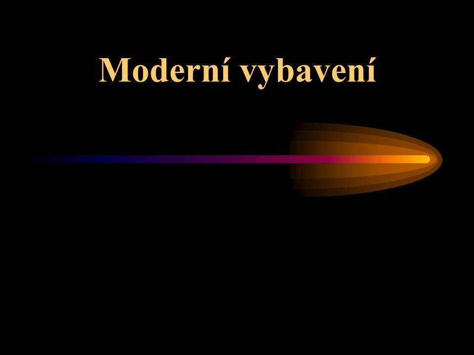 Moderní vybavení